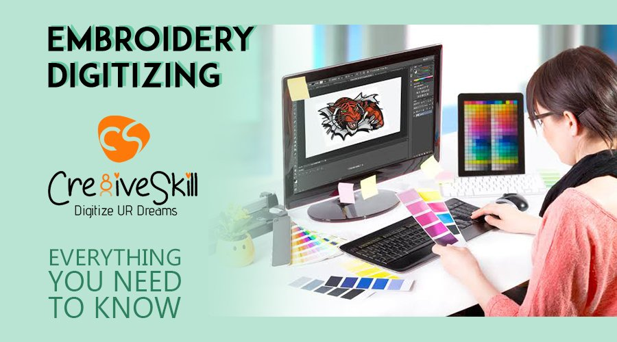 Embroidery digitizing Everything you Need to Know