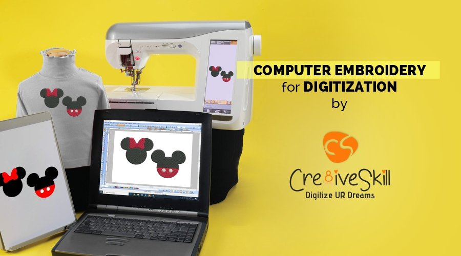Computer Embroidery for Digitization by Cre8iveskill