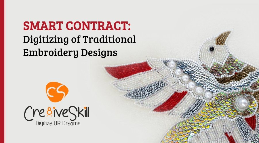 Smart Contract - Digitizing of Traditional Embroidery Designs