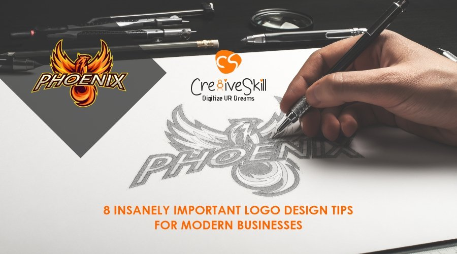 8 Insanely Important Logo Design Tips for Modern Businesses