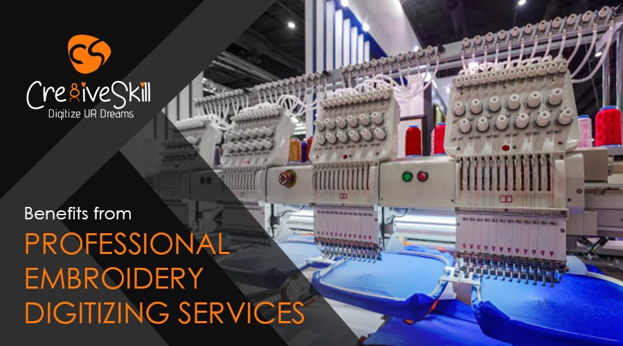 What Benefits You Get From Professional Embroidery Digitizing Services