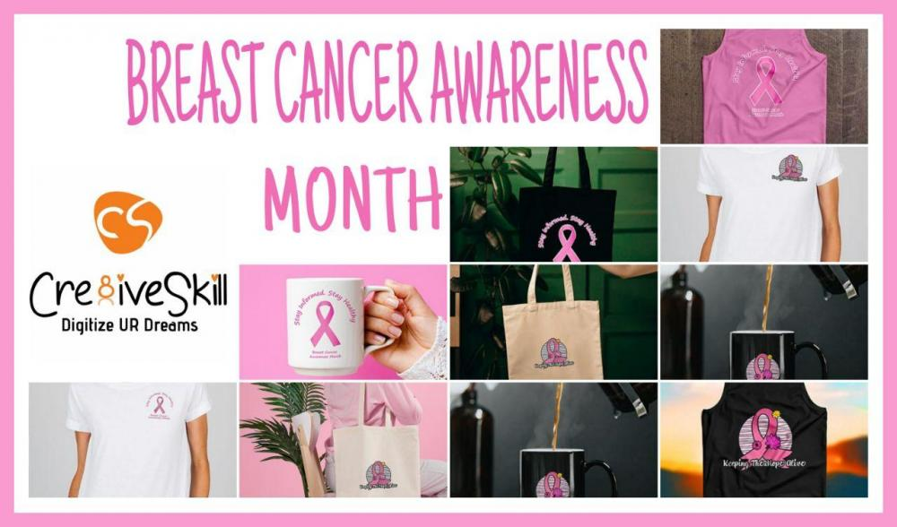Paint the World Pink  Breast Cancer Awareness Month