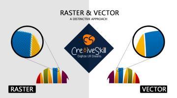 RASTER to Vector - A Distinctive Approach