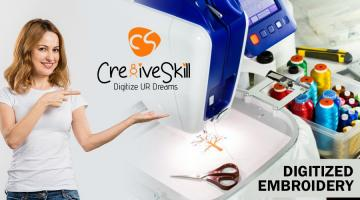 A Conscious Approach with Digitized Embroidery