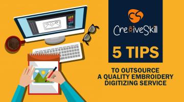 5 Trending Tips to Outsource a Quality Embroidery Digitizing Service