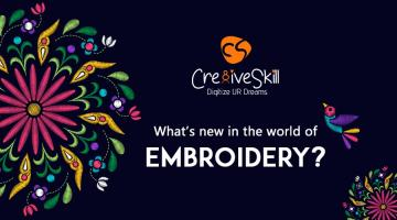 What's New In The World of Embroidery