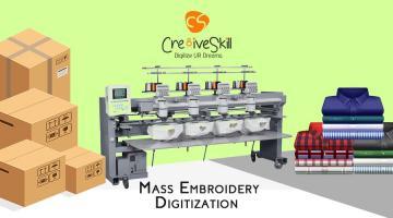 Embroidery bulk order