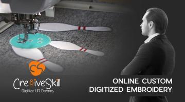 Online Custom Digitized Embroidery