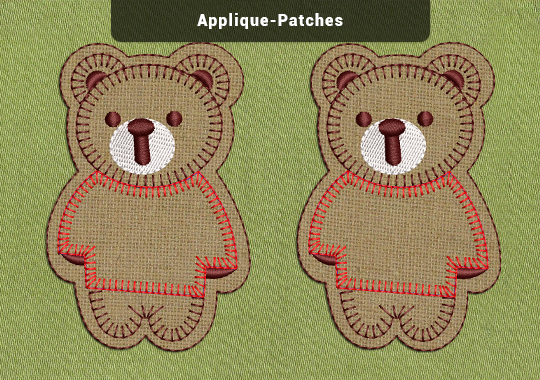Applique Embroidery Patches