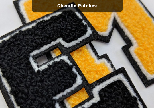 Chenille Embroidery Patches