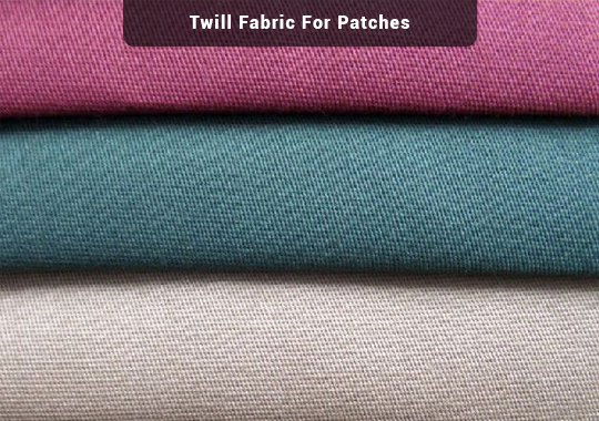 Twill Fabric For Patches