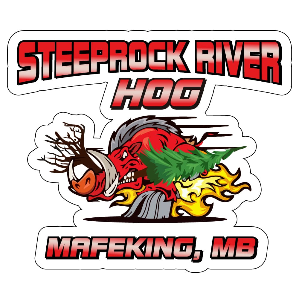 Steeprock River Hog vectorizing artwork