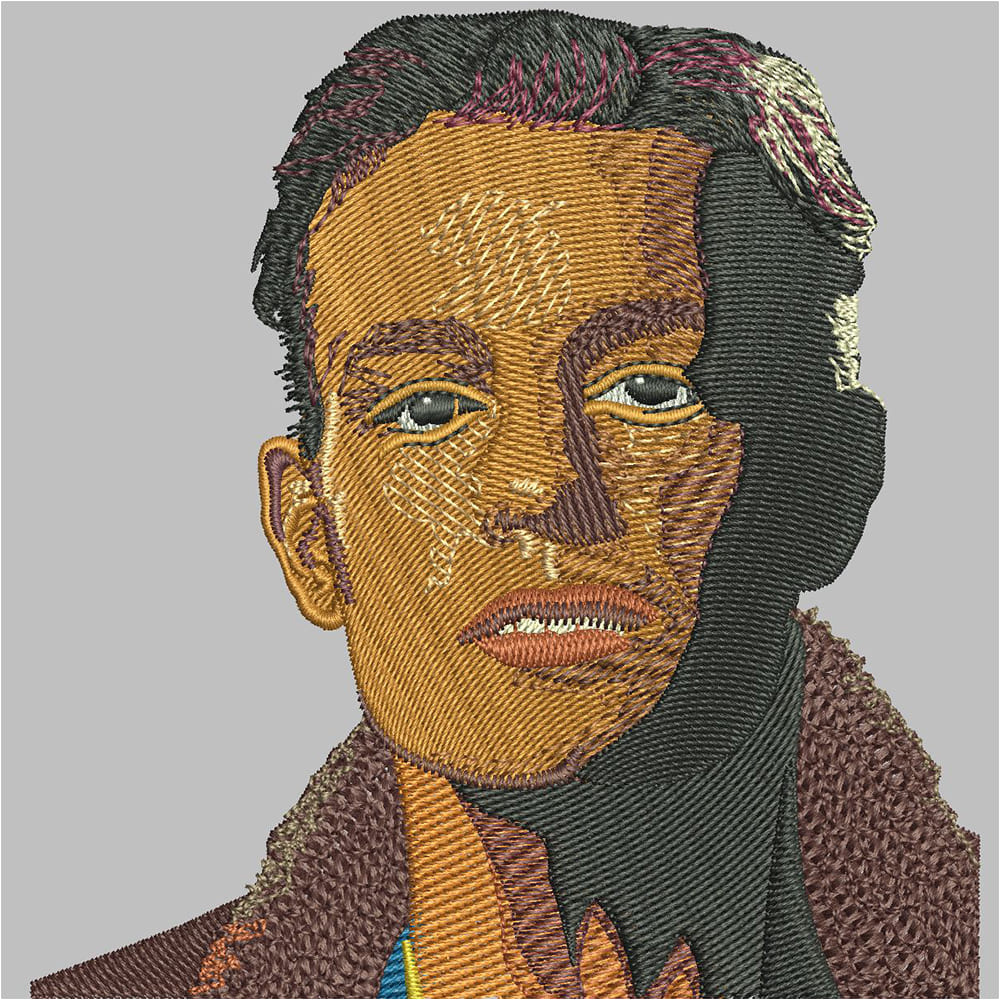 Face Embroidery Digitizing