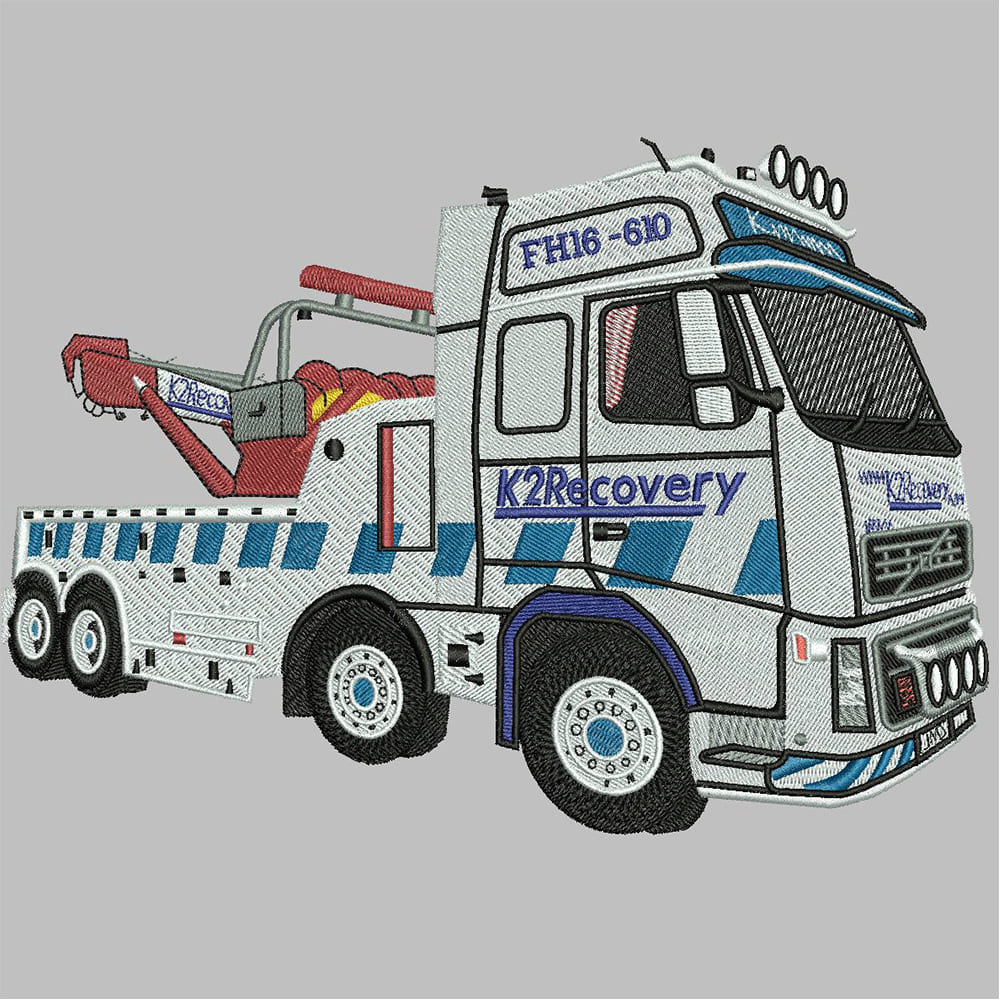 Truck Embroidery