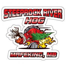 Steeprock River Hog vectorizing artwork