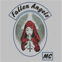 Fallen Angles Embroidery