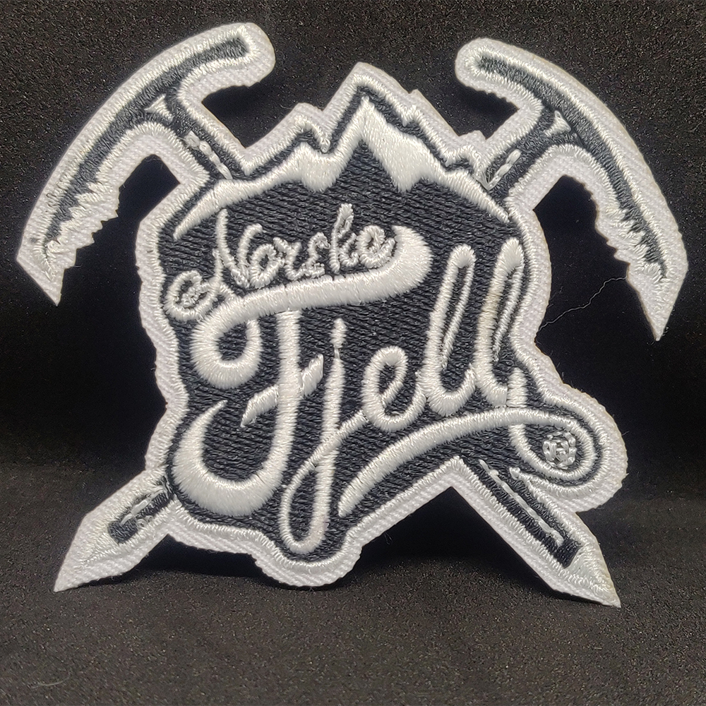 Norske Fjell Embroidery Patch Design