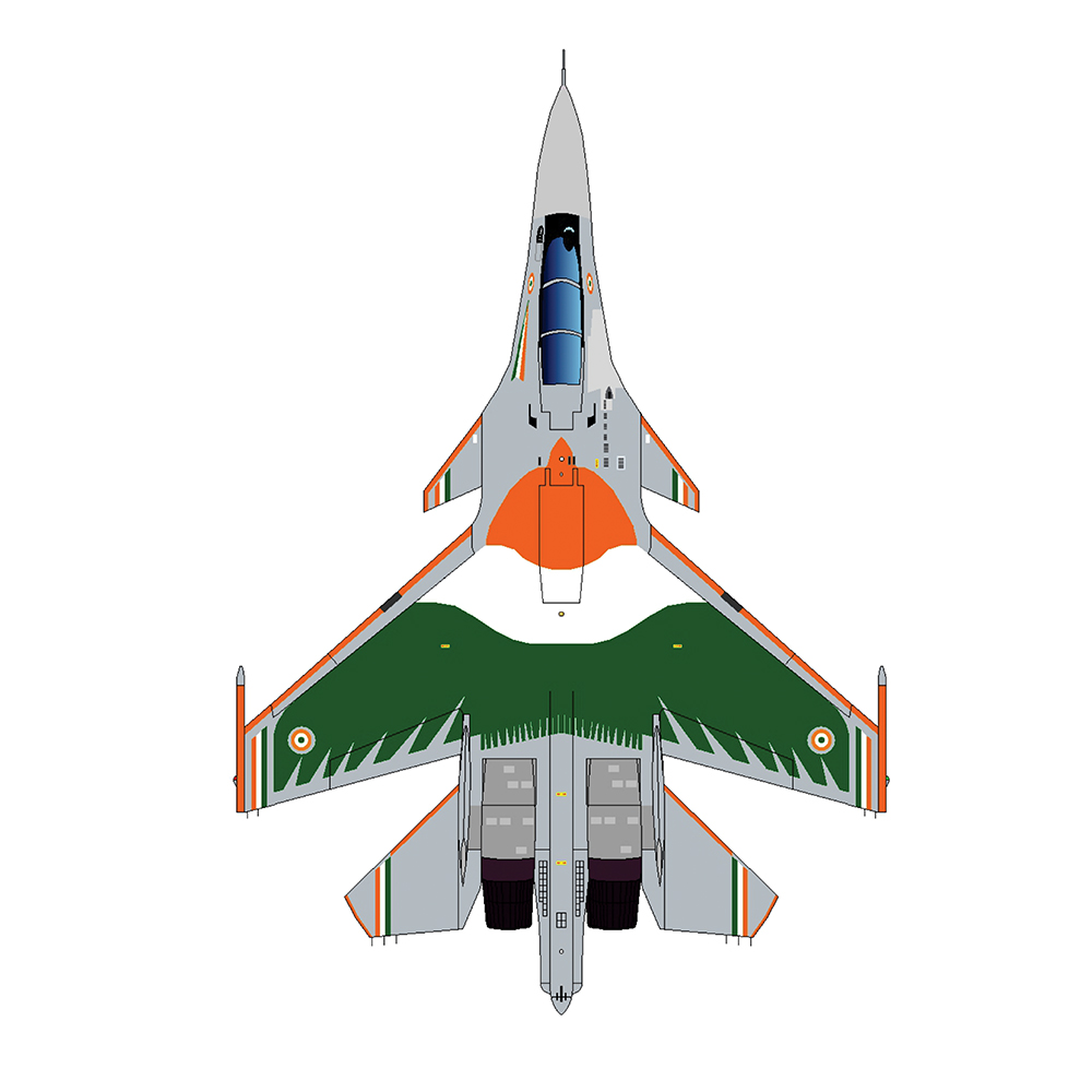 Rafale Embroidered  Patch before