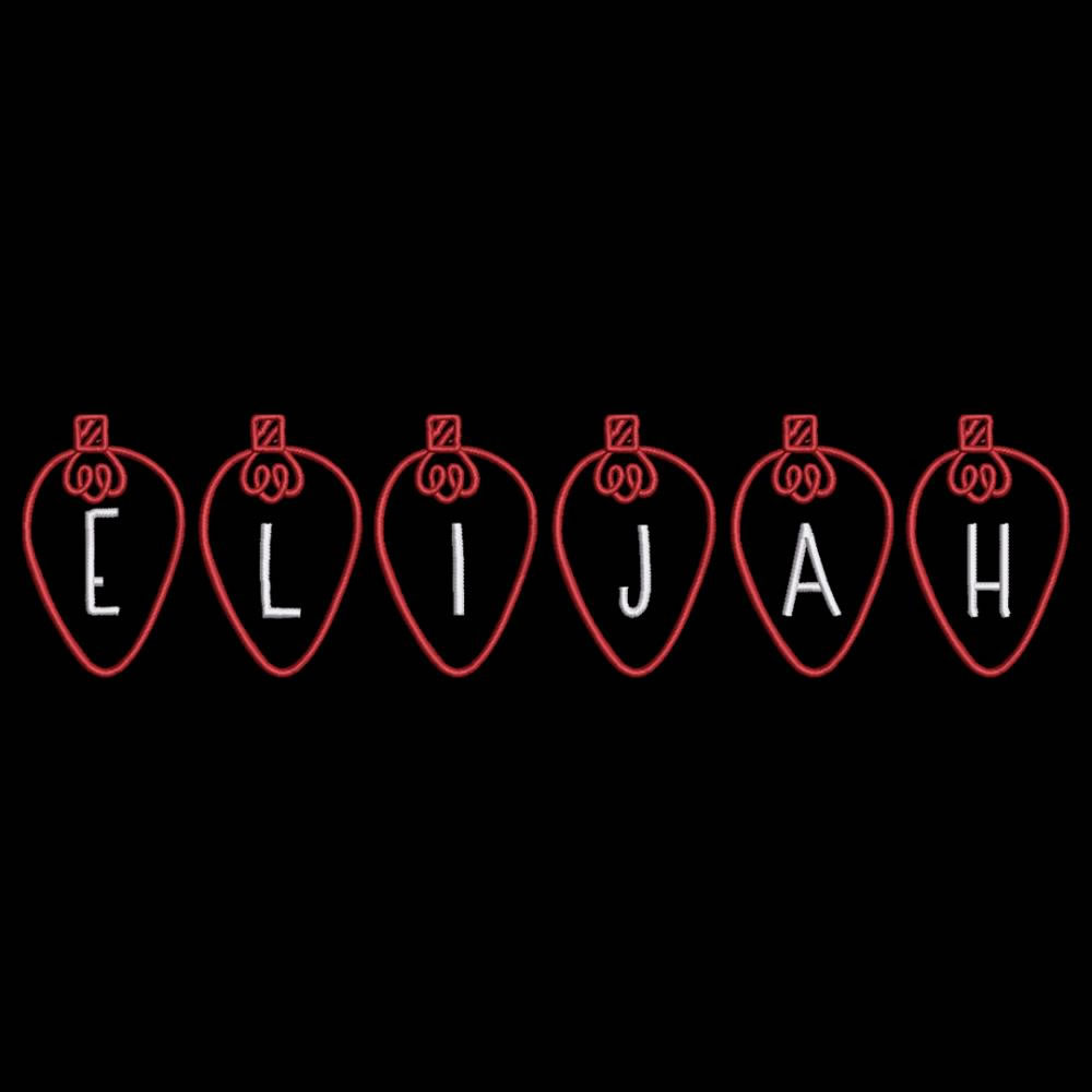 Elijah Christmas Lights