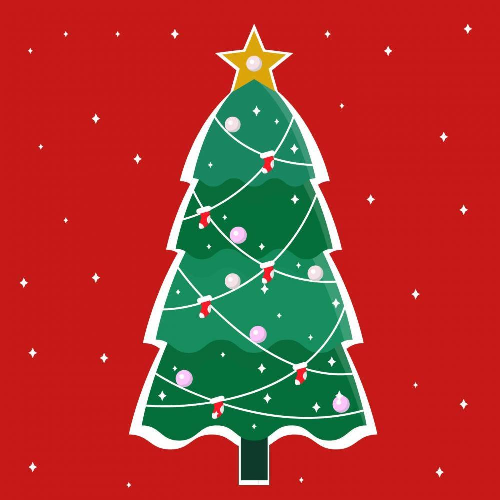 The Glittery Christmas Tree