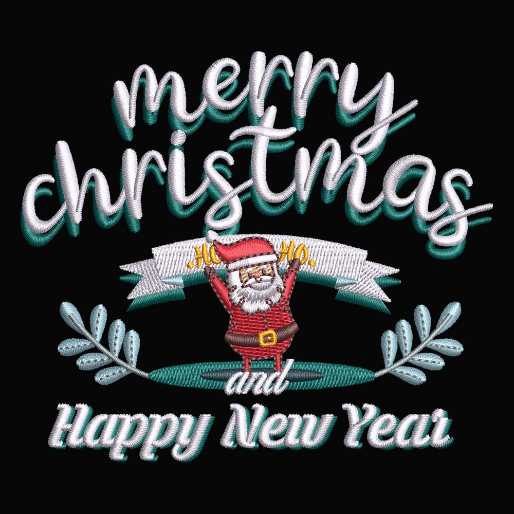 Digitized Merry Christmas