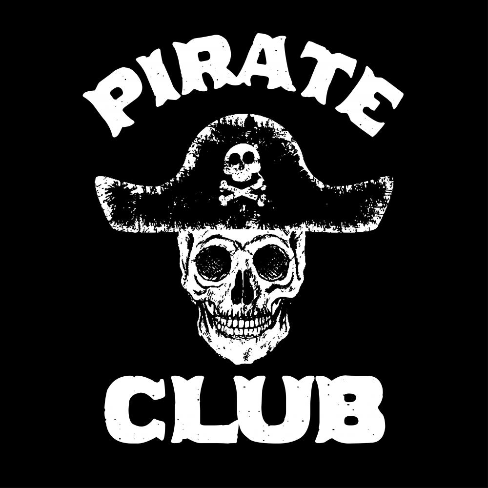 Pirate Club Vector Art