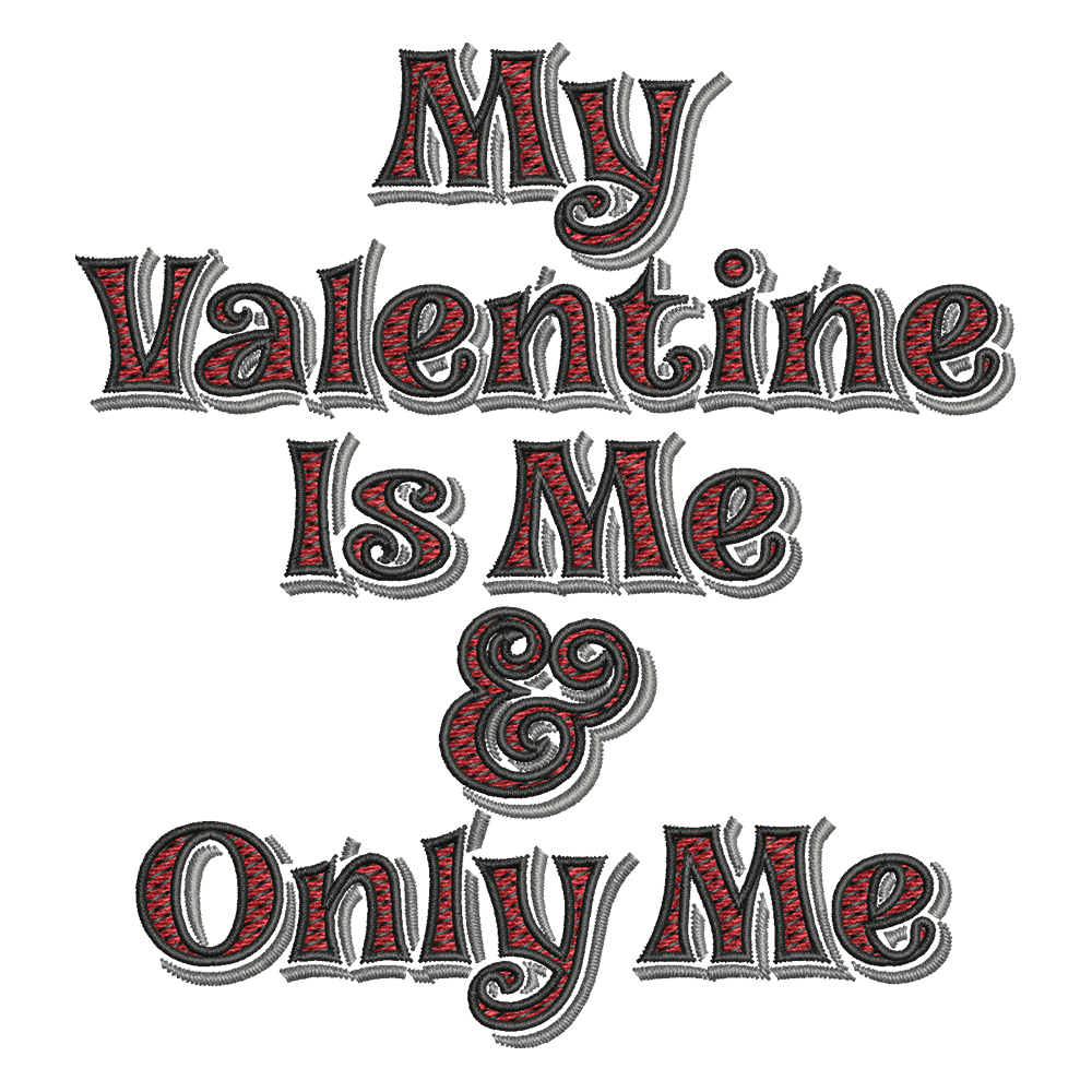 My Valentine Only Me