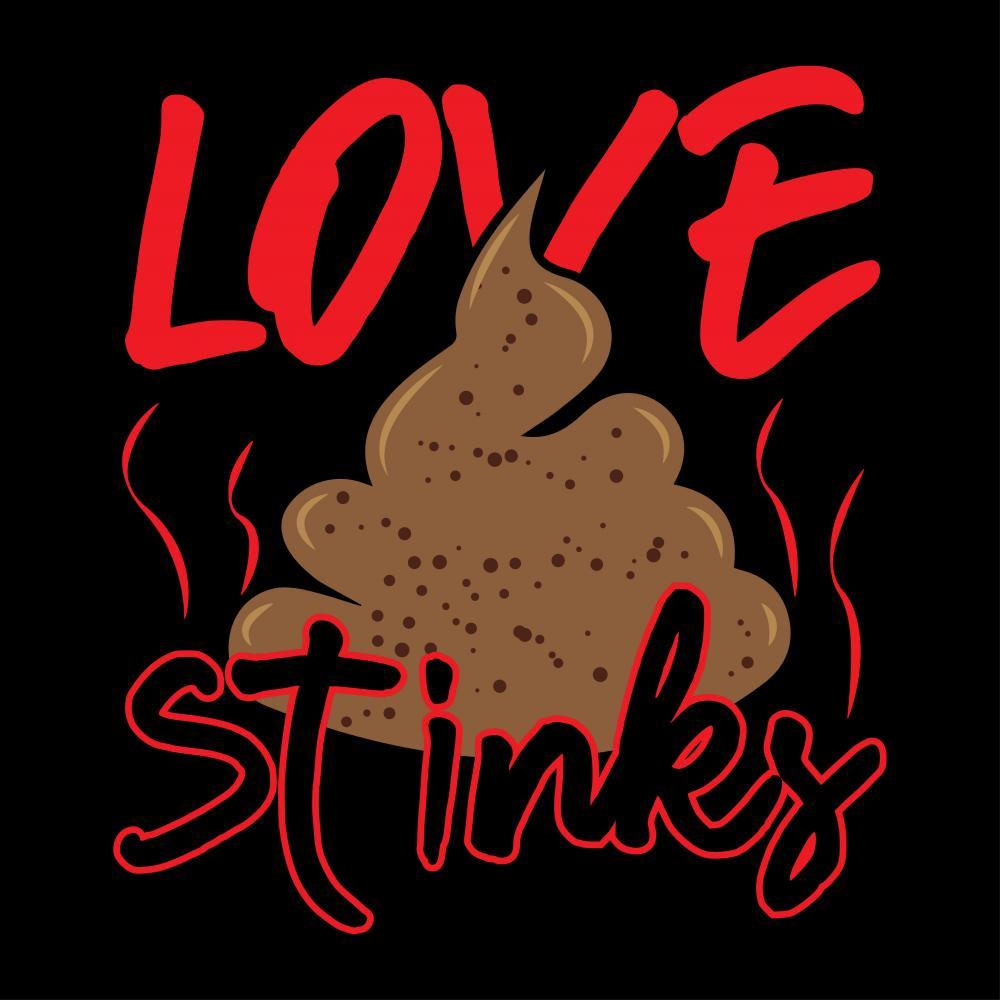 Love Stinks Vector Art