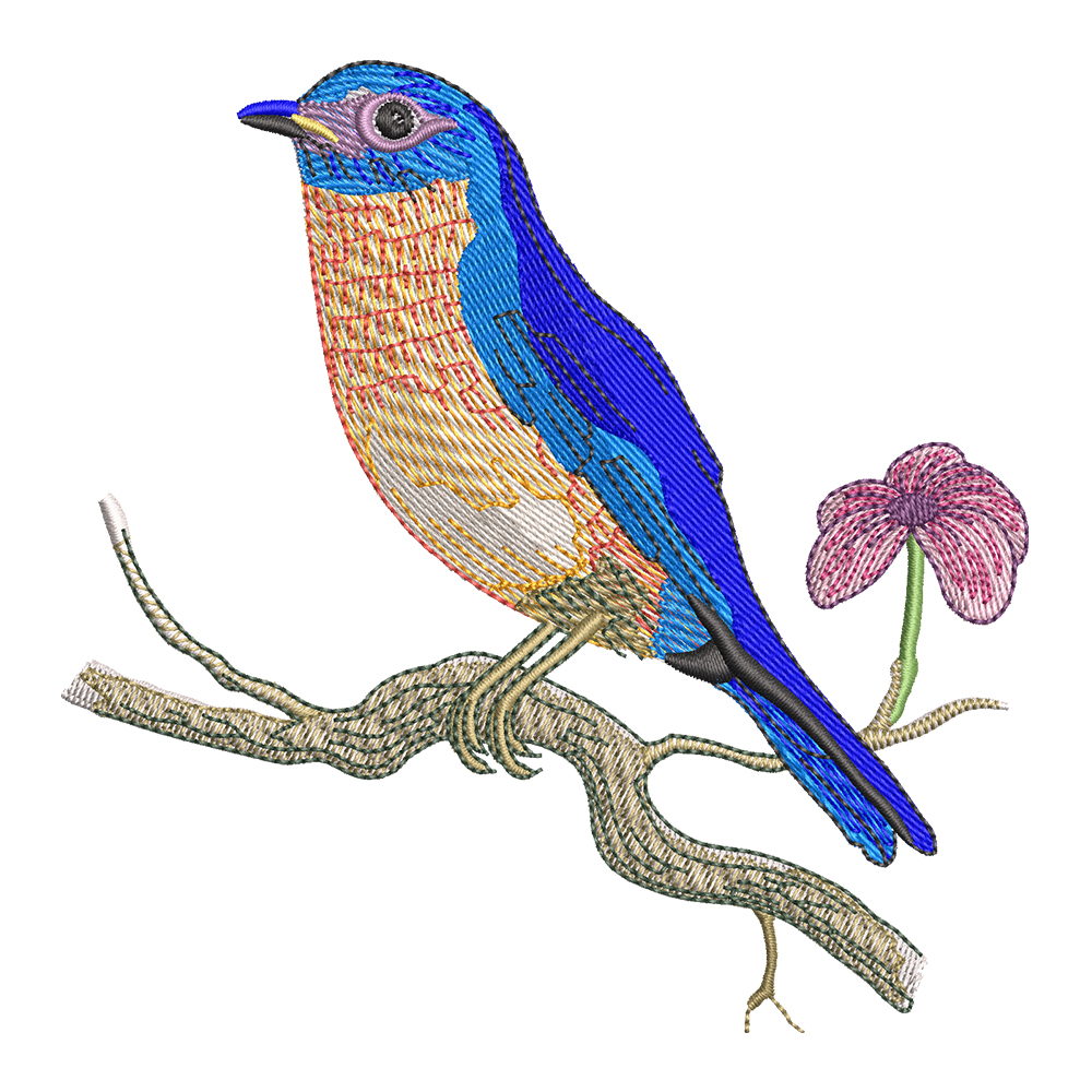 Embroidery Design: Sparrow