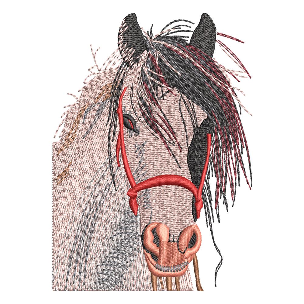 Embroidery Design: Napoleon Horse