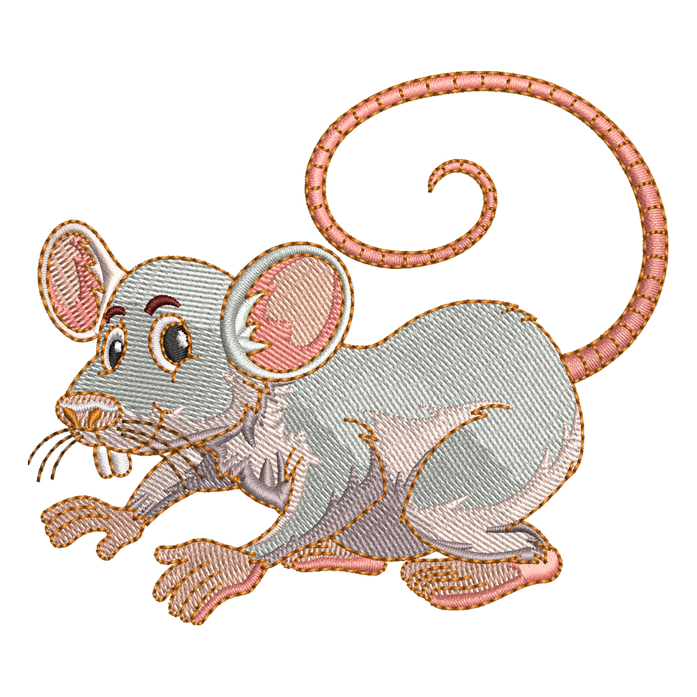 Cre8iveSkill's Embroidery Design Mischievous Mouse