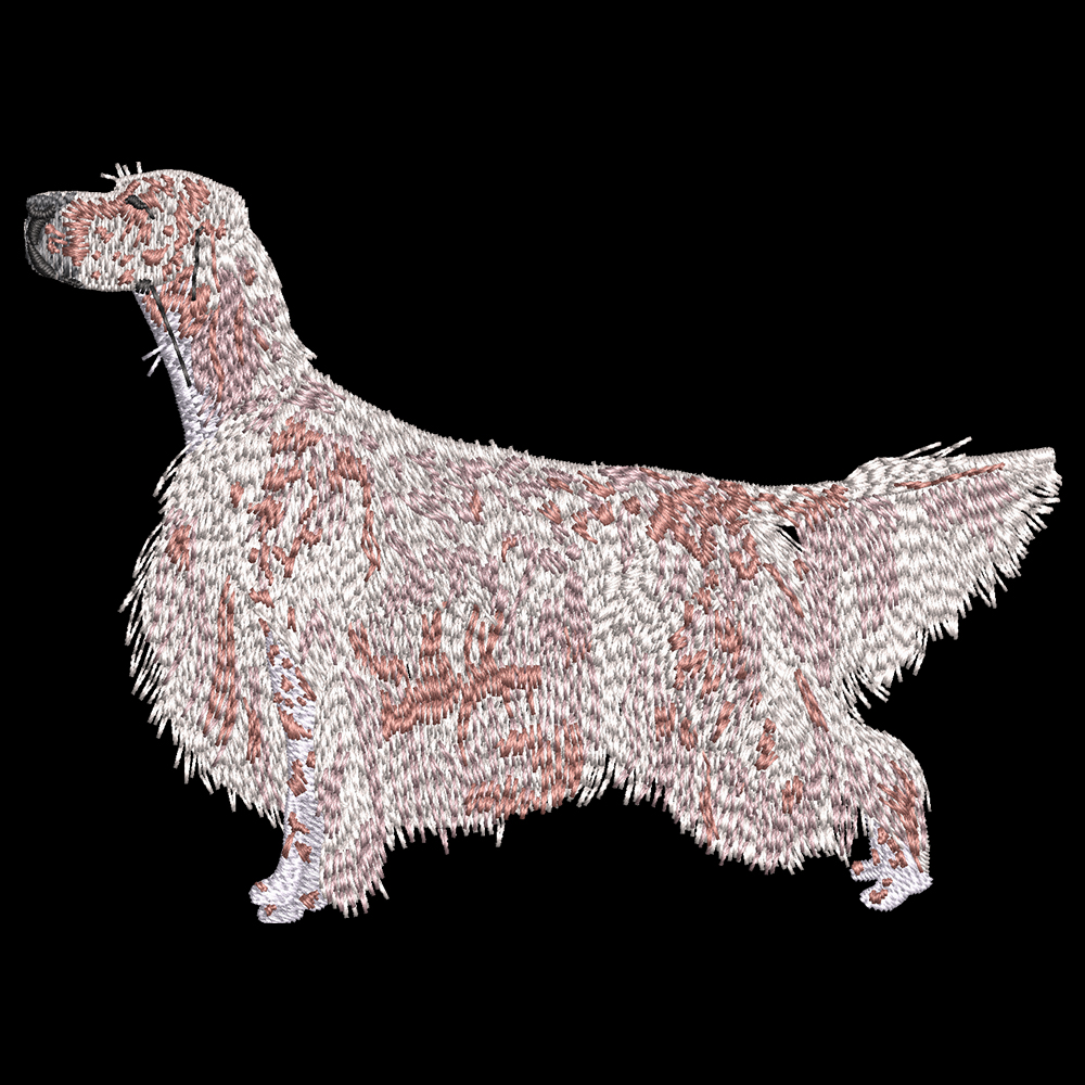Cre8iveSkill's Embroidery Design English Setter Dog