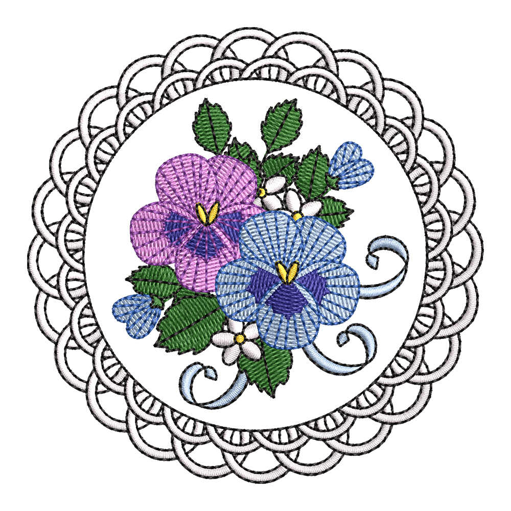 Cre8iveSkill's Embroidery Design African Daisy