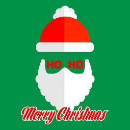 Santa Claus vector HO HO