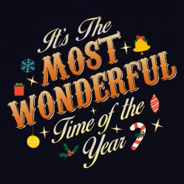 Most Wonderful Time -Typography