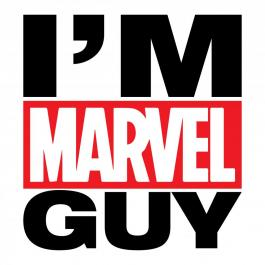 I'M Marvel Guy Vector Art