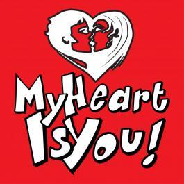 My Heart Is You Vector Art
