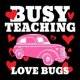 Valentine'd day Vector art Busy Fixing Love Bugs