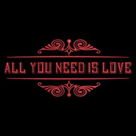 Embroidery Design: All You Need Is Love