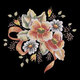 Cre8iveSkill;s Embroidery Design Denise Flower