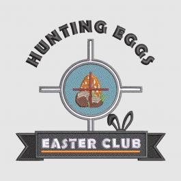 Cre8iveSkill's Embroidery Design Hunting Eggs Easter Club