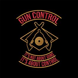 It's about gun control embroidery design