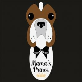 Mama's Prince Vector Art Design