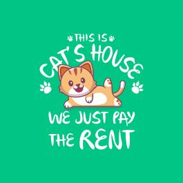Pay the rent vector design