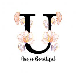 You are Beautiful Vector Art Design