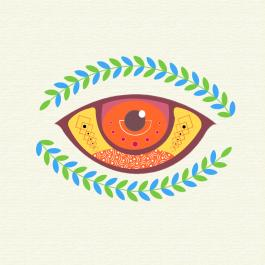 Eye Vector Art Design