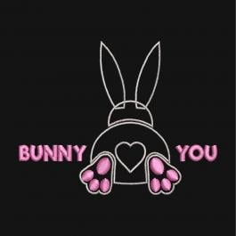 Bunny Applique Design