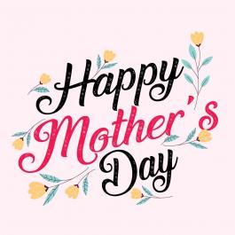 Happy Mother's Day Vector Art Design