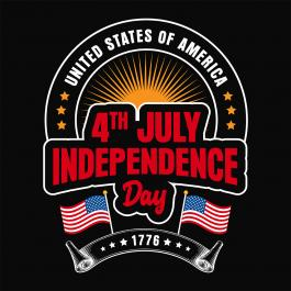Cre8iveSkill's Vector Design 4th July The Independence Day