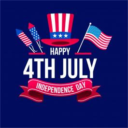 Vector Art: Happy 4th Of July